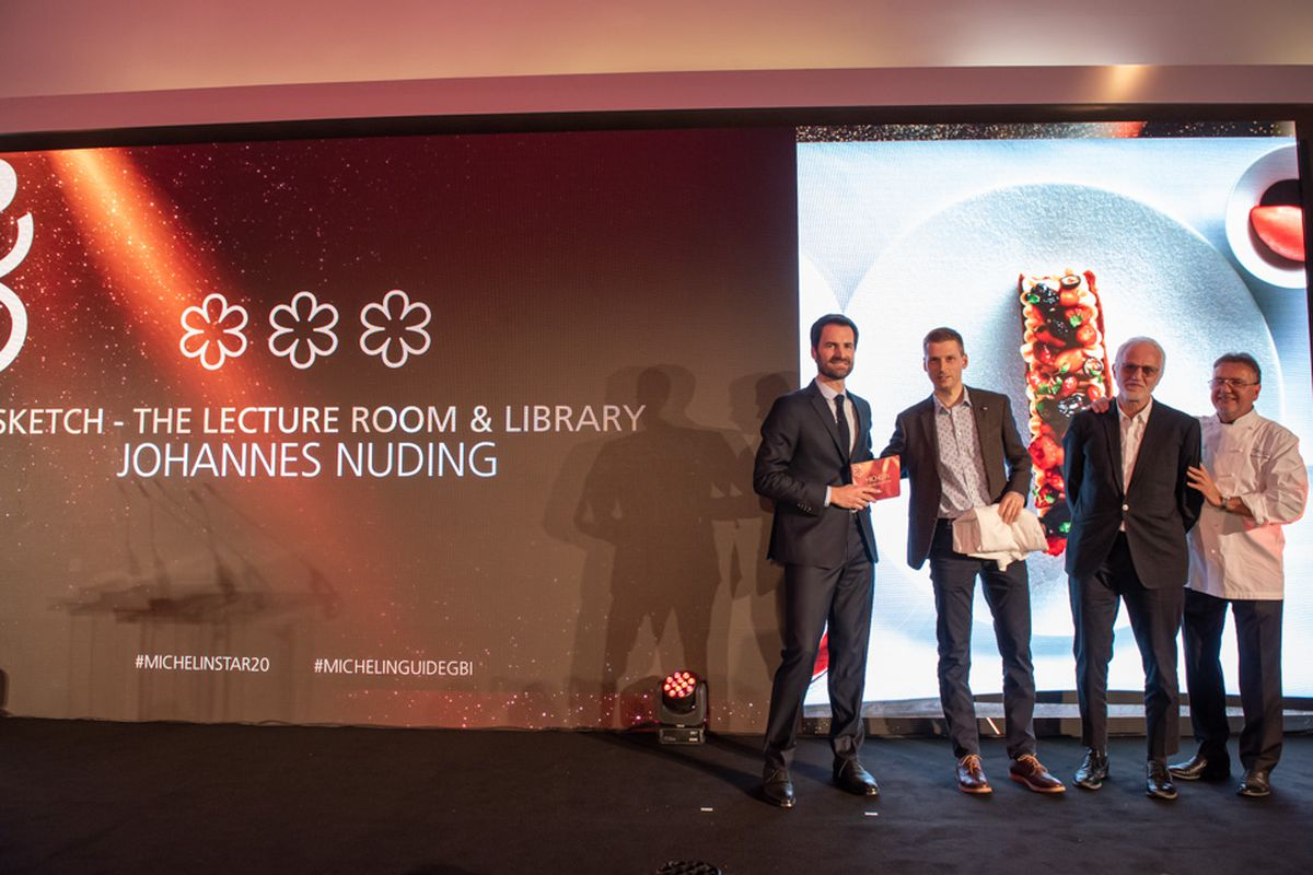 Sketch The Lecture Room and Library has three Michelin stars