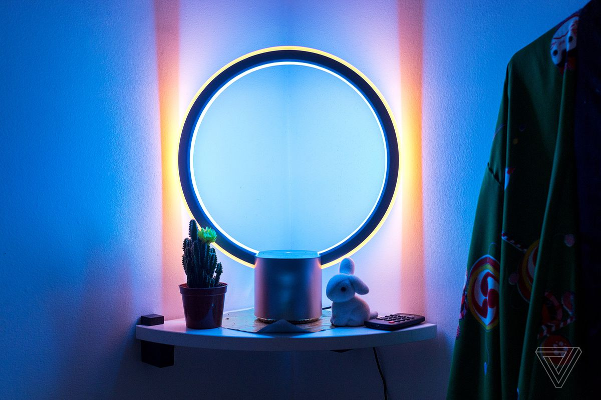 Dot Light Lampen : The c by ge sol light looks futuristic but doesn t need alexa