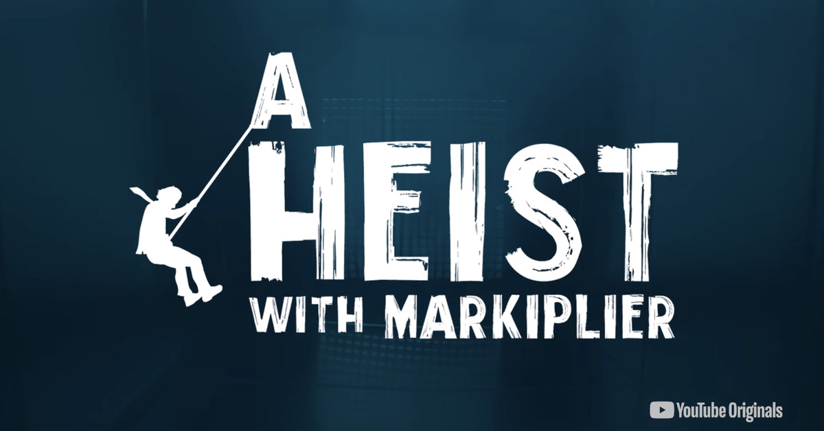 YouTube's first interactive original is a heist show starring gaming personality Markiplier