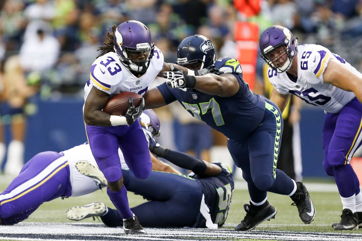 Seahawks Key To Stopping The Vikings Starts With Limiting