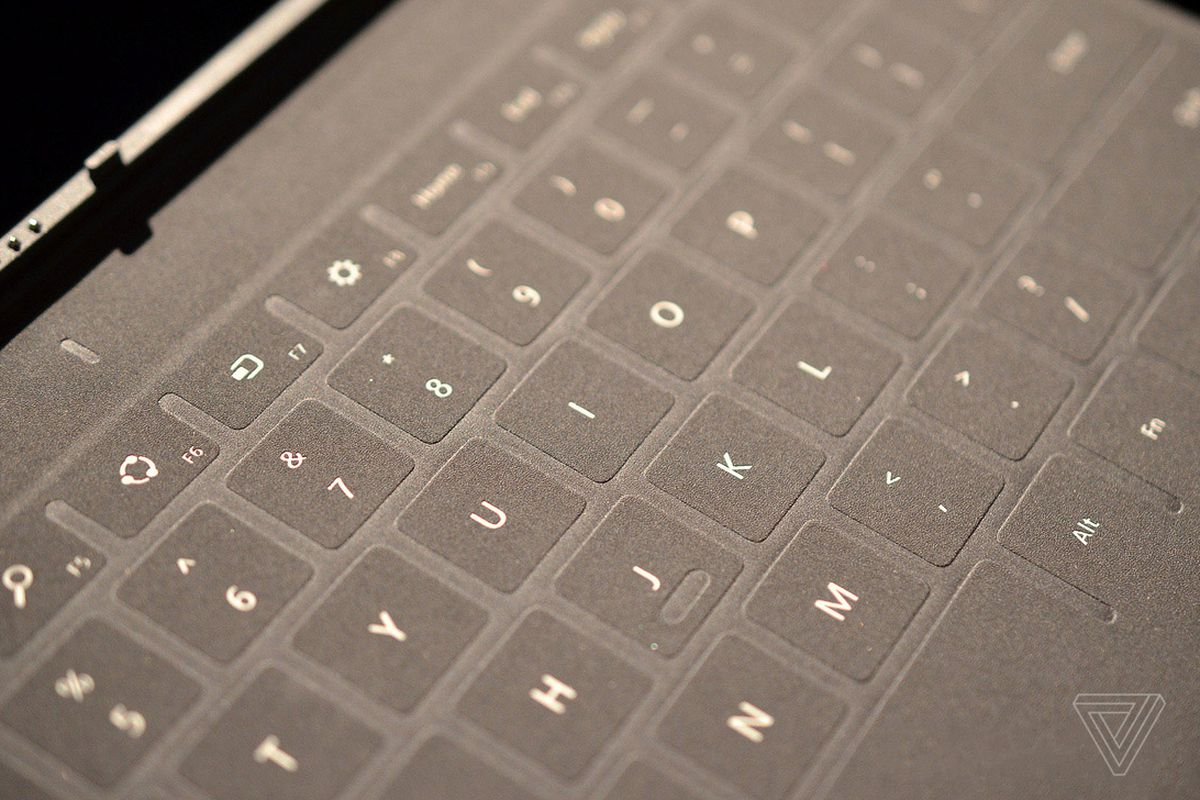 Did Microsoft reveal plans for an iPad Touch Cover?