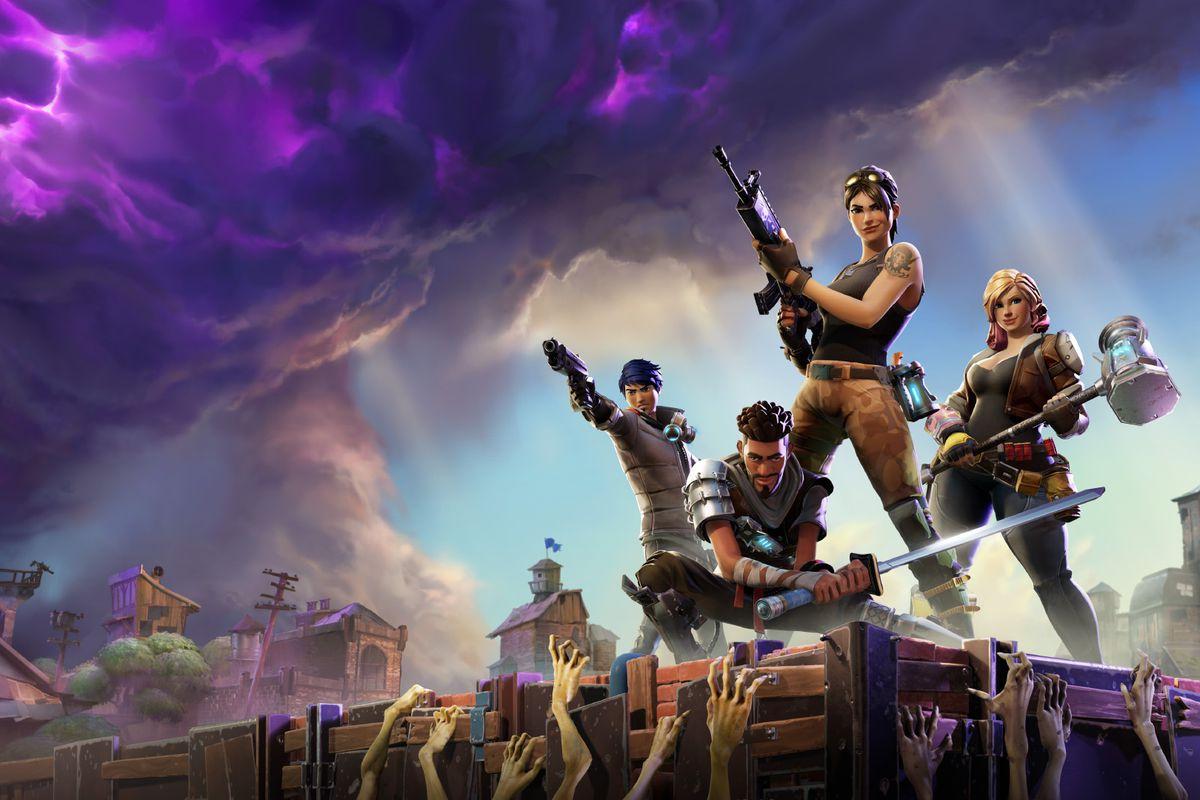 Fortnite: Battle Royale storm art