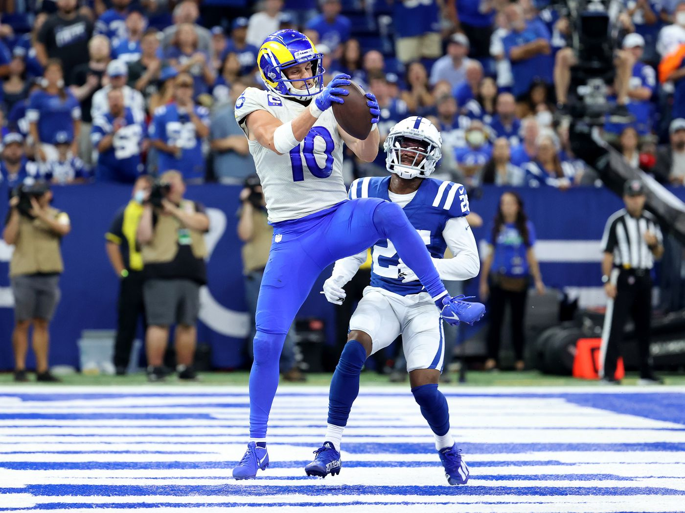 Rams' Matthew Stafford-to-Cooper Kupp connection is off to a HOT START - Turf Show Times