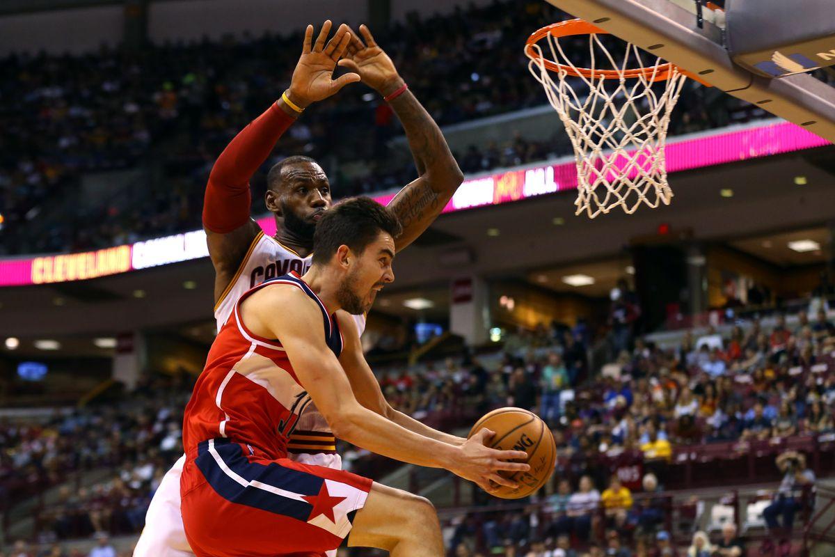 NBA: Preseason-Washington Wizards at Cleveland Cavaliers