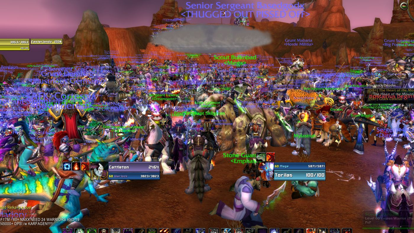 World of Warcraft fans bid farewell to largest legacy server before
