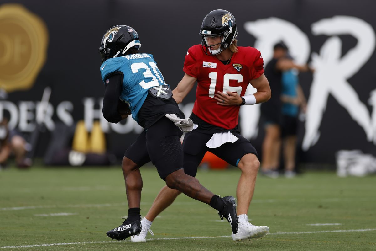 NFL: AUG 03 Jacksonville Jaguars Training Camp