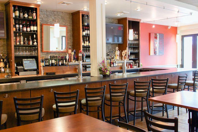 The bar at Ester