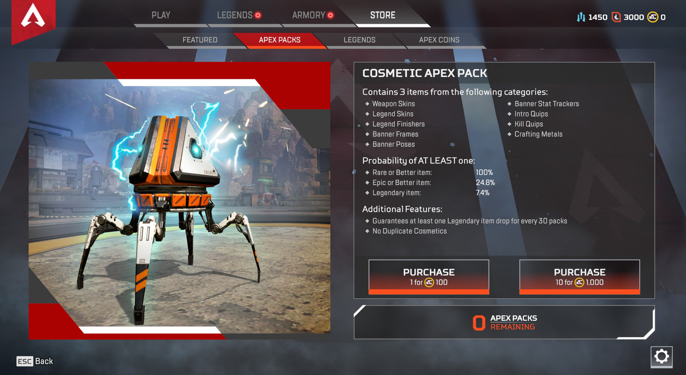 We spent $100 on Apex Legends loot boxes, but you shouldn't - Polygon