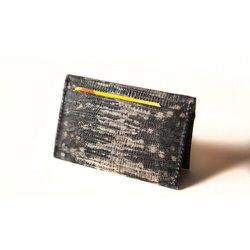 """<strong>Eayrslee</strong> Limited Edition Willis Lizard Wallet, <a href=""""http://ofakind.com/editions/1276-WILLIS-LIZARD-WALLET-CLUTCH#.Uqh0jKUw0zU """">$68</a> at Of A Kind"""