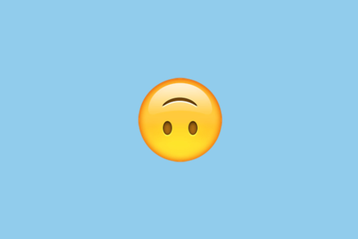We Are Wasting The Upside Down Face Emoji On Sarcasm The Verge
