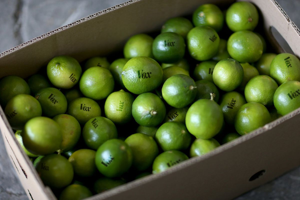 Limes aren't so expensive anymore. Vox limes, however — those are special.