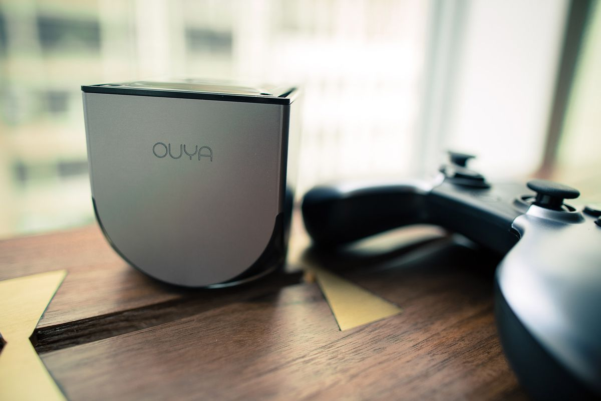 The Ouya hardware was discontinued when Razer bought the company in 2015. Its name lived on as a digital storefront serving that console, the MadCatz Mojo, and Razer's Forge TV.