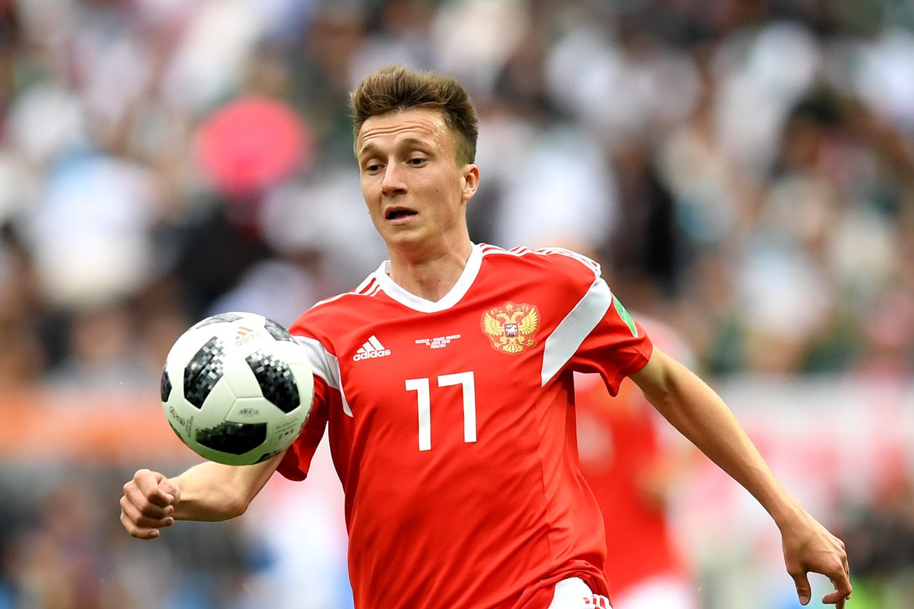Golovin responds to Barcelona rumors