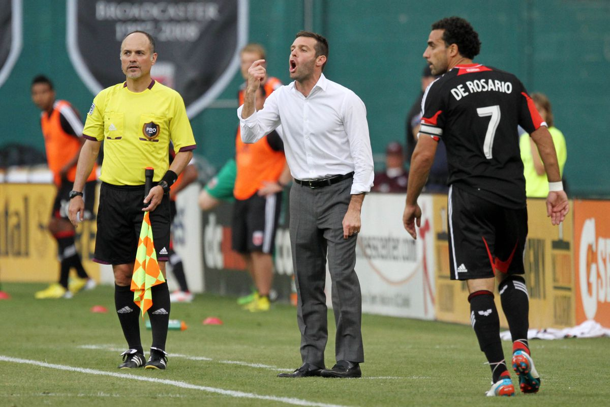 """Ben Olsen & Dwayne De Rosario at RFK Stadium - """"Listen. To the Words. Coming Out. Of My Mouth."""""""