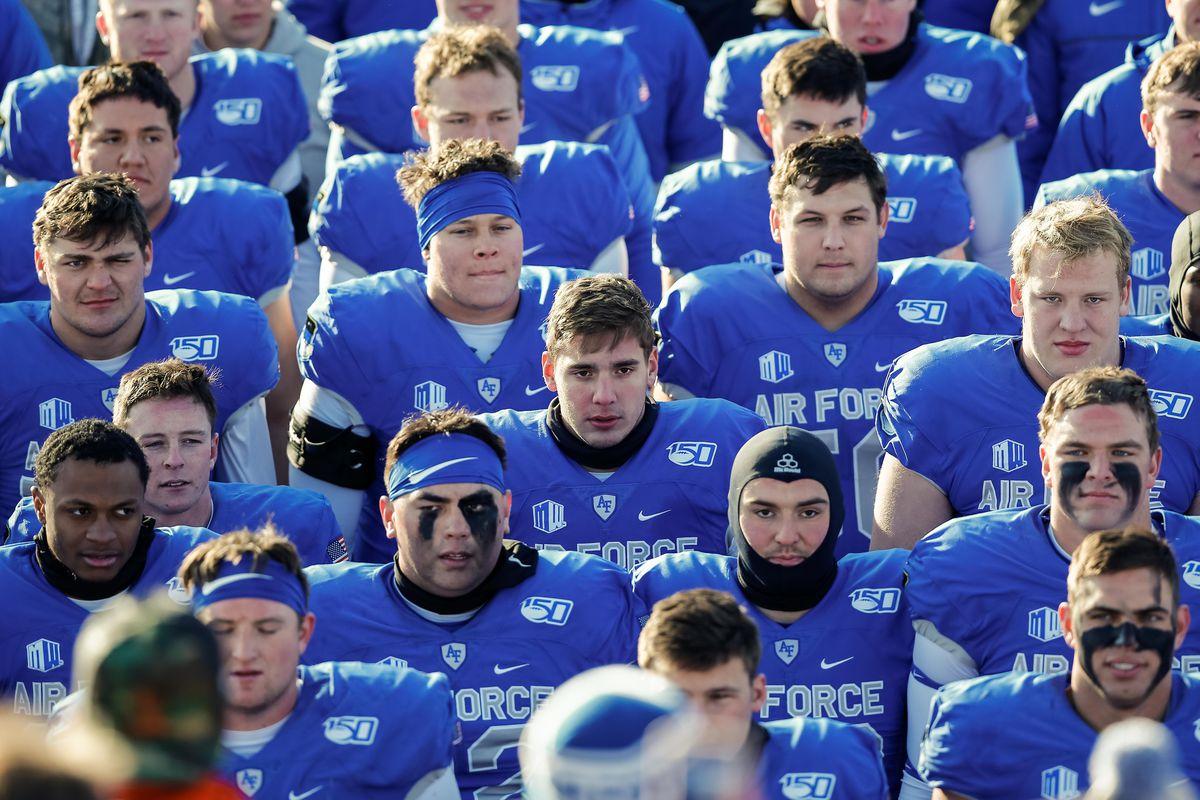 NCAA Football: Wyoming at Air Force