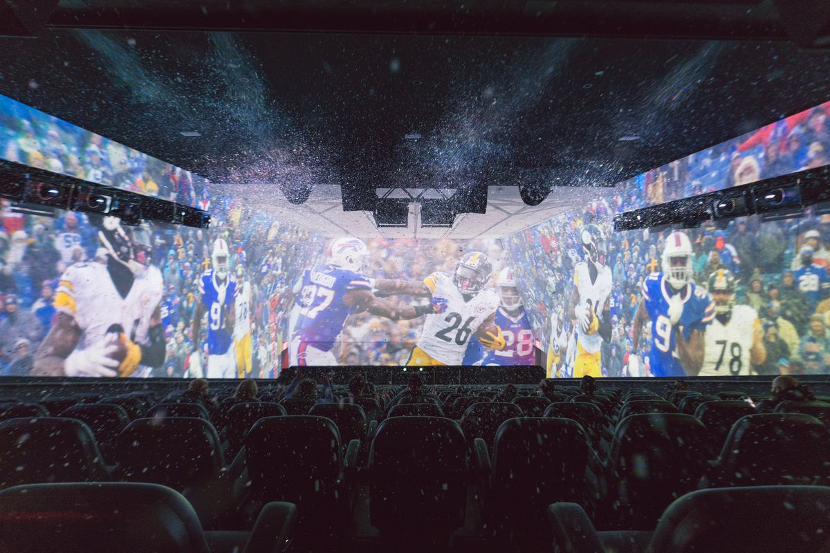 MANHATTAN — The brand new NFL Experience in Times Square is not a football  museum. I make the mistake of calling it that while talking to Danny  Boockvar 100289a5451fd