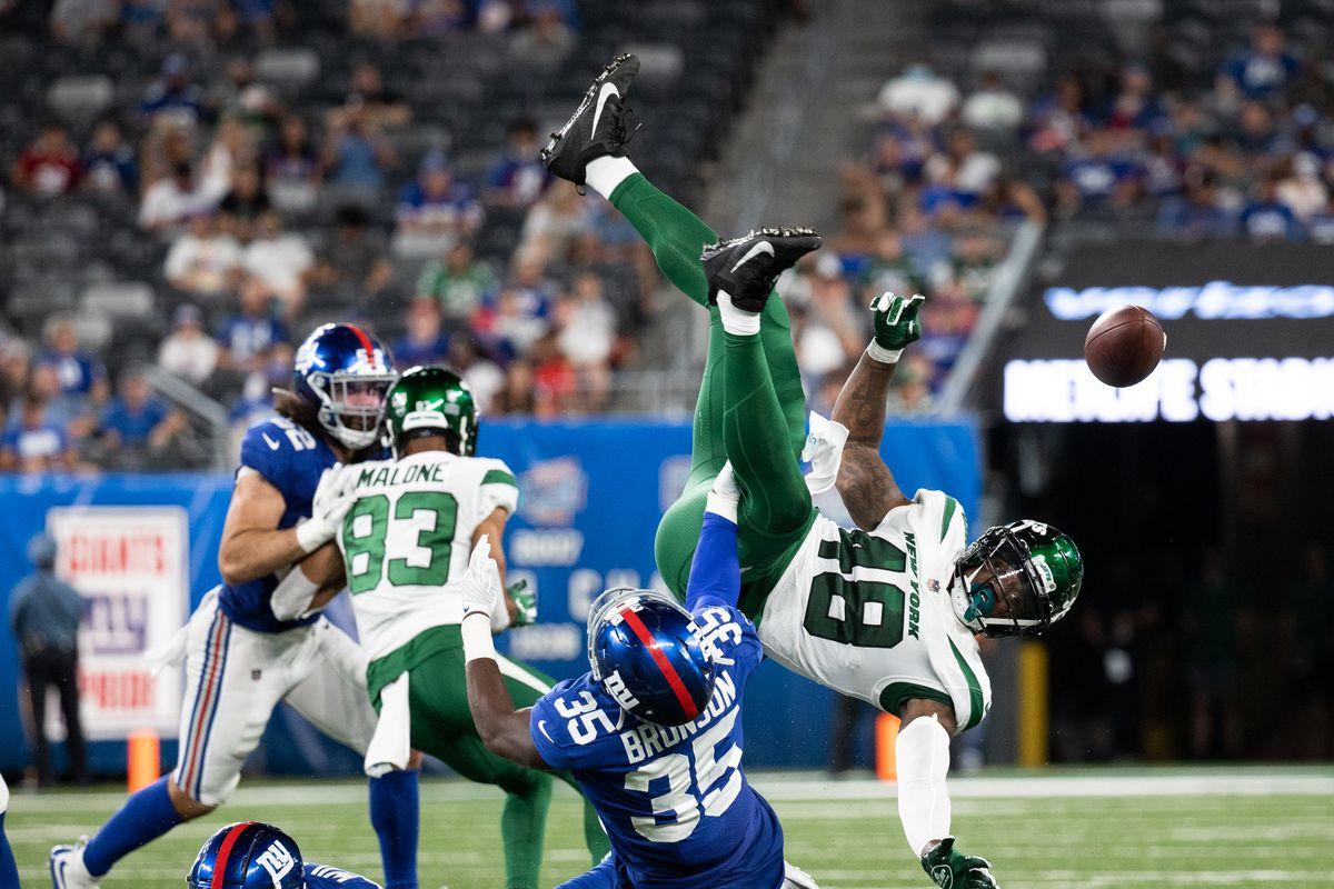 New York Jets v New York Giants
