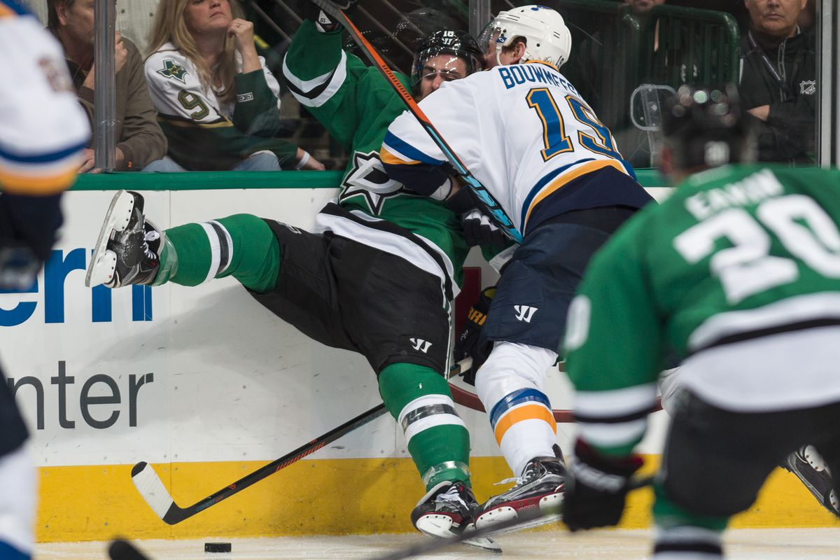 It's ok. Brett Ritchie would get revenge on Bouwmeester for Eaves.