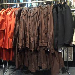 Men's outerwear, $499.50