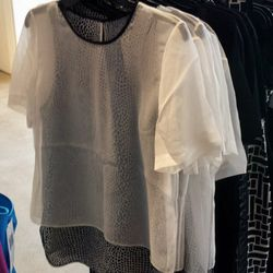 Floaty printed tops for $75