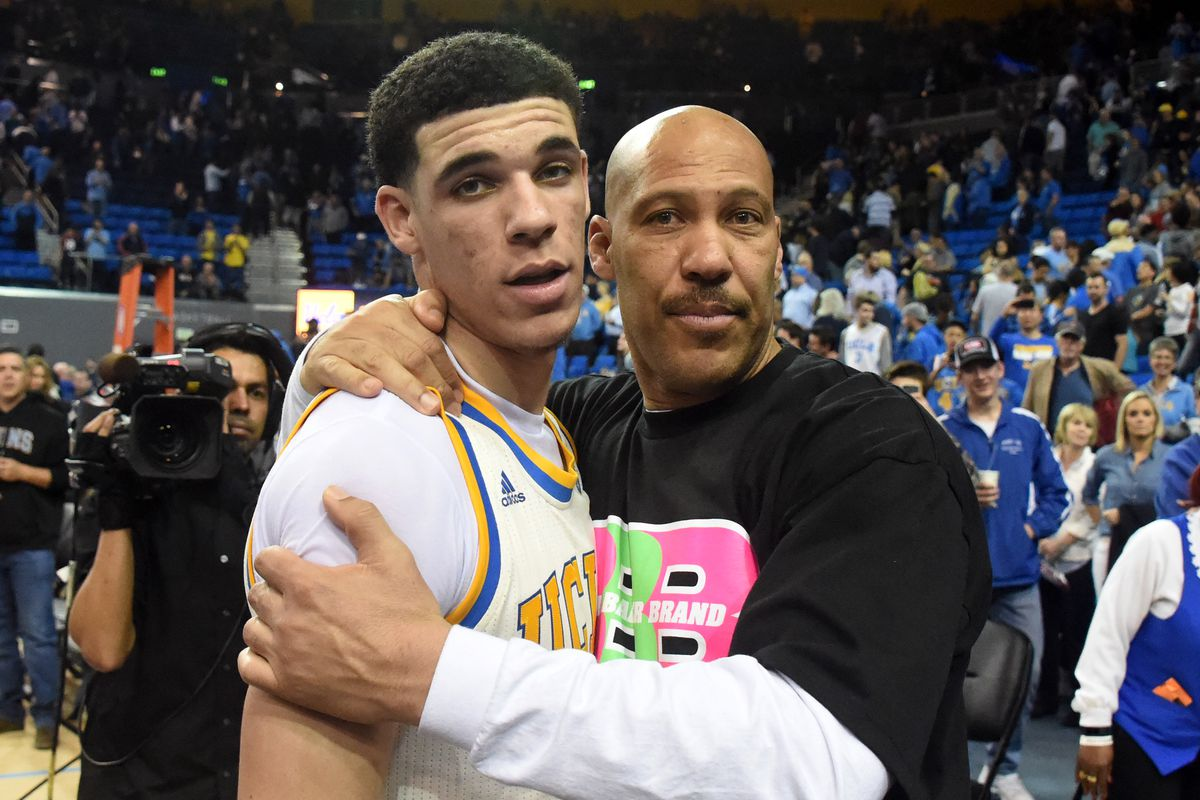 Lonzo Ball pokes fun at dad, Lavar Ball, in Foot Locker commercial