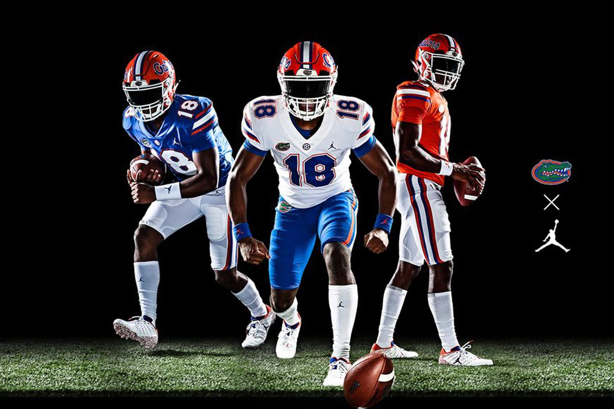 b00fb532a01a77 Florida unveils Jordan Brand uniforms