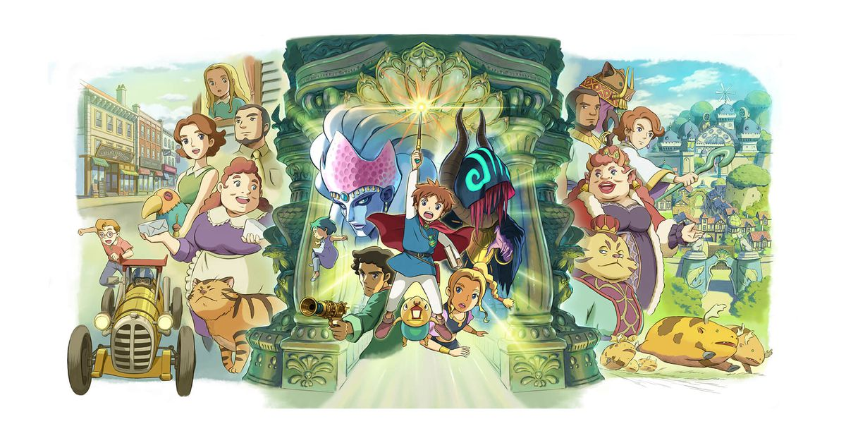 Ni no Kuni is coming to Switch, getting remastered for PC, PS4
