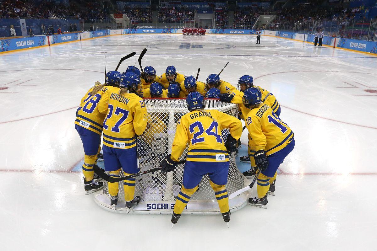 Ice Hockey - Winter Olympics Day 6 - Sweden v Russia
