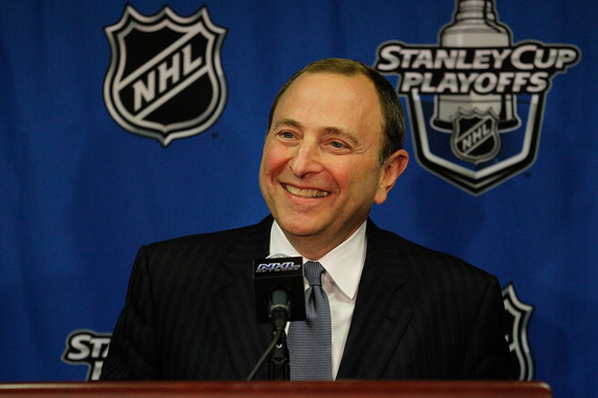 Gary Bettman is the commissioner of the National Hockey League.