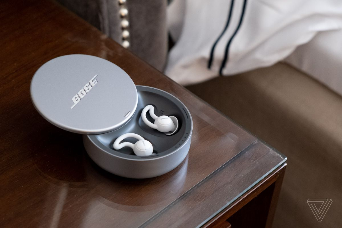 Boses New 250 Sleepbuds Play Soothing Sounds Instead Of Music Circuit Or Unusual Humming Common Breaker Problems Photo By Chris Welch The Verge