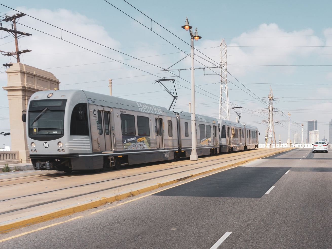 One project Metro aims to finish by 2028 is an extension of the southern leg of the Gold Line to Whittier.
