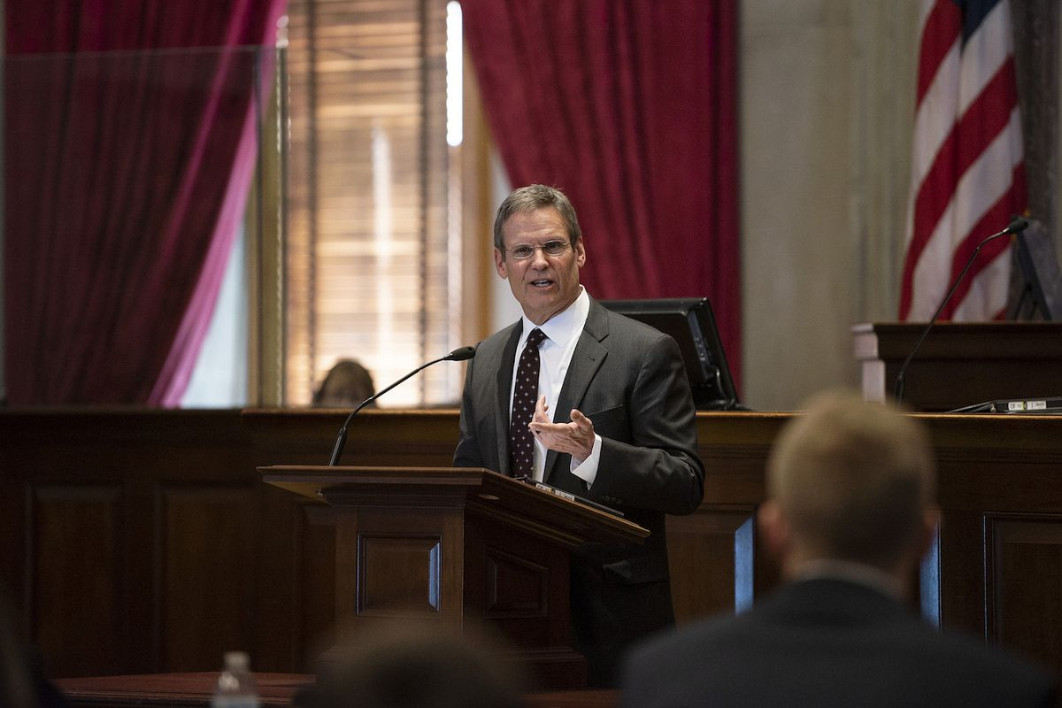 Bill Lee became Tennessee's 50th governor on Jan. 19.