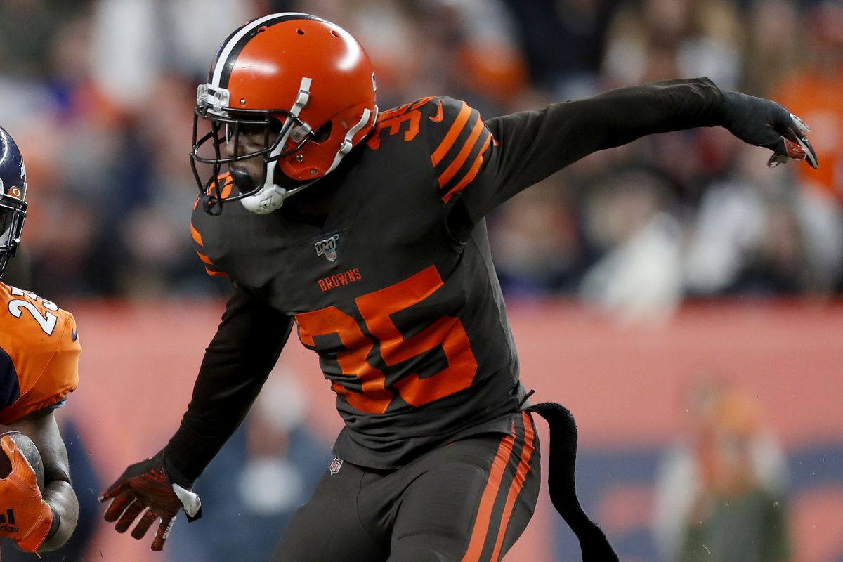 The Browns released Jermaine Whitehead after his disturbing social media rant following a loss in Denver.