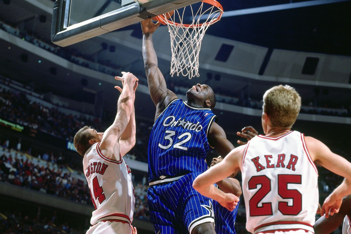 Should the Magic retire Shaq s jersey  - Orlando Pinstriped Post 6615d85ec