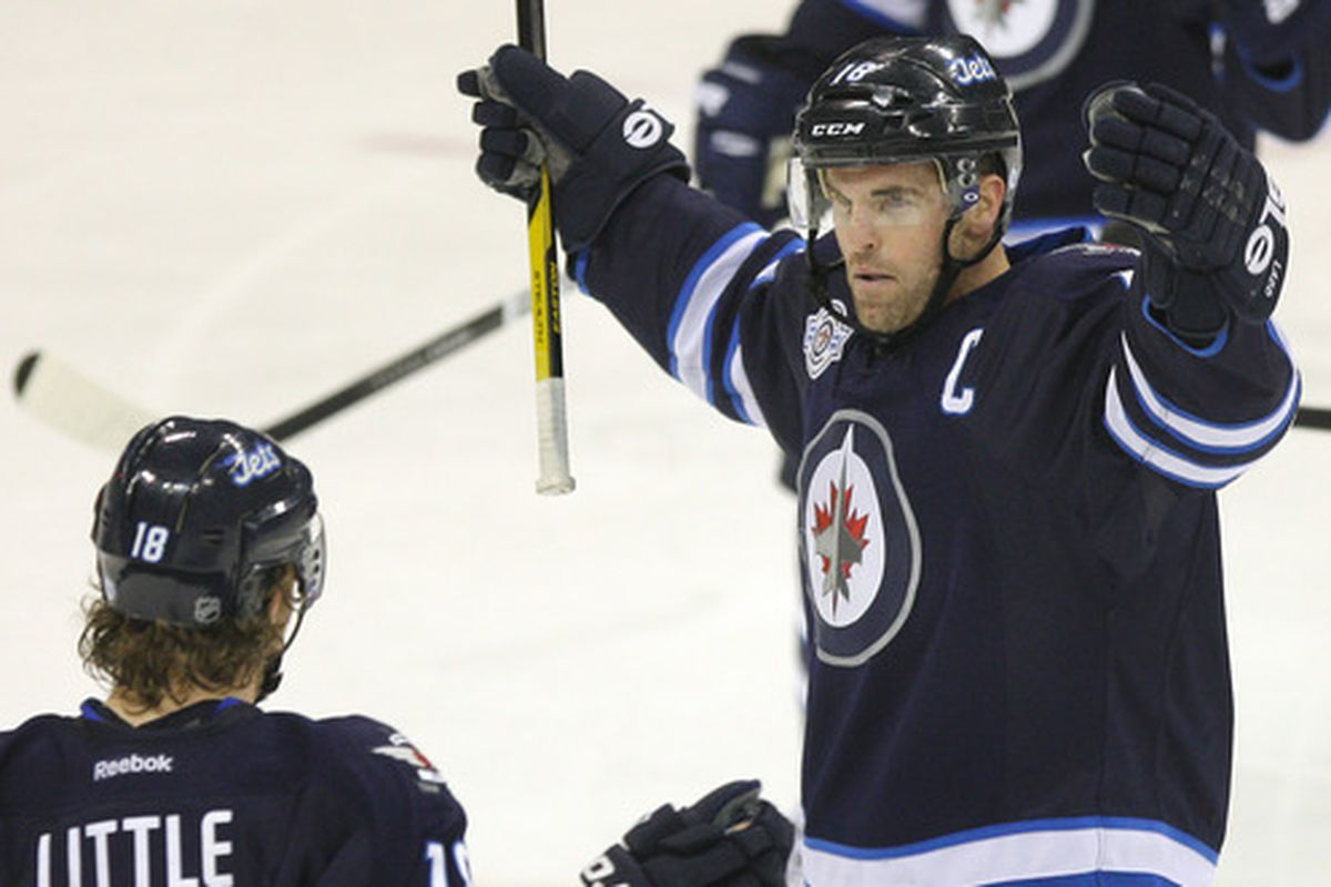 Wednesday Morning Altitude Check Winnipeg Jets Need Andrew Ladd S Leadership Now More Than Ever Arctic Ice Hockey