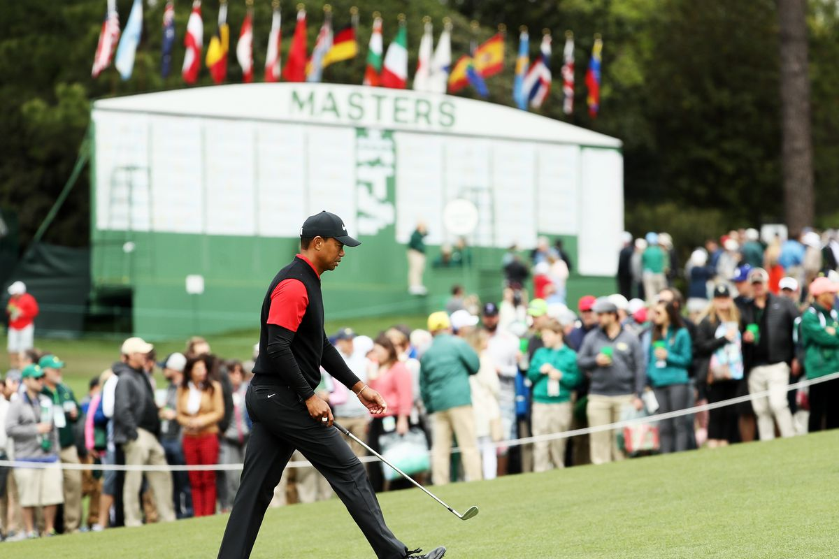 bd5825f019134e Masters field 2019  Tiger Woods leads list of Augusta qualifiers and ...