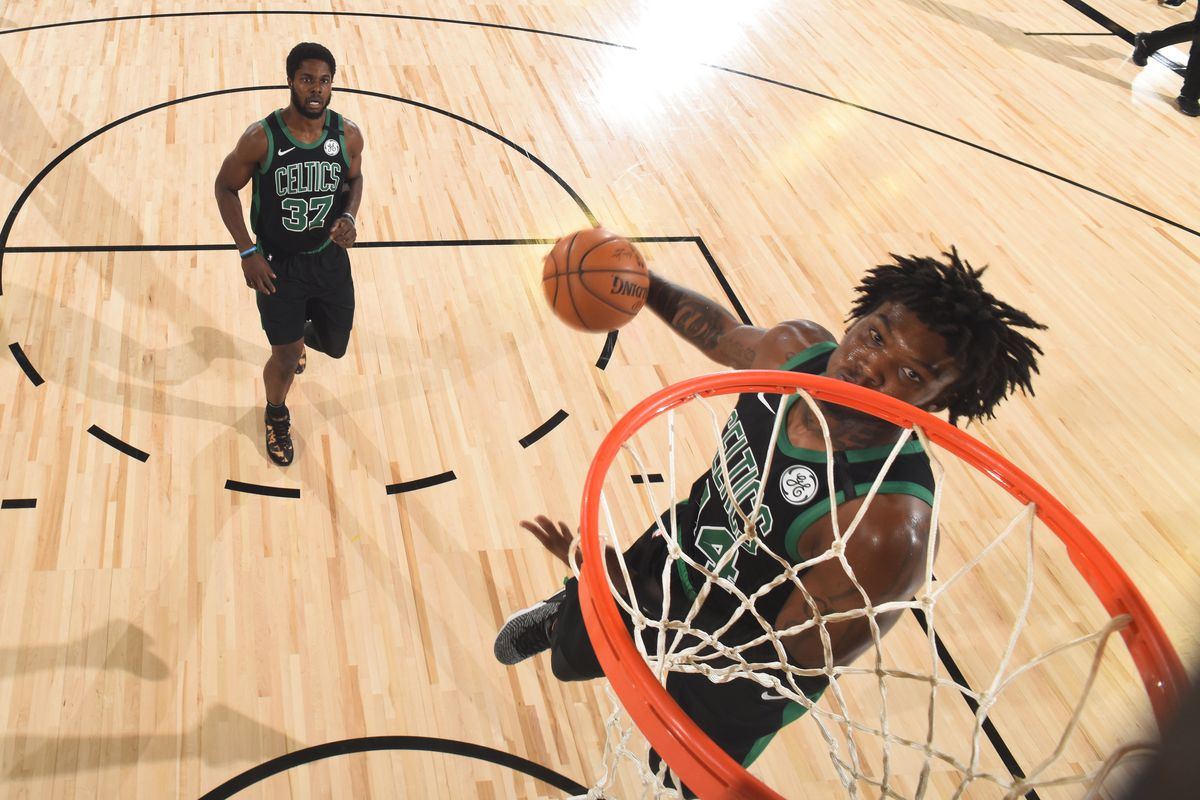 Must C S Update Robert Williams Leaves Game After Putback Dunk Returns And Leads Team In Scoring Celticsblog