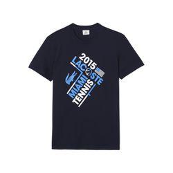 """Men's tennis graphic T-shirt, <a href=""""https://www.lacoste.com/us/lacoste-sport/men/t-shirts/men-s-tennis-graphic-t-shirt/TH3172-51.html?dwvar_TH3172-51_color=166"""">$45</a>"""