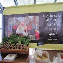 By far the largest produce stand from the California Family Farms.