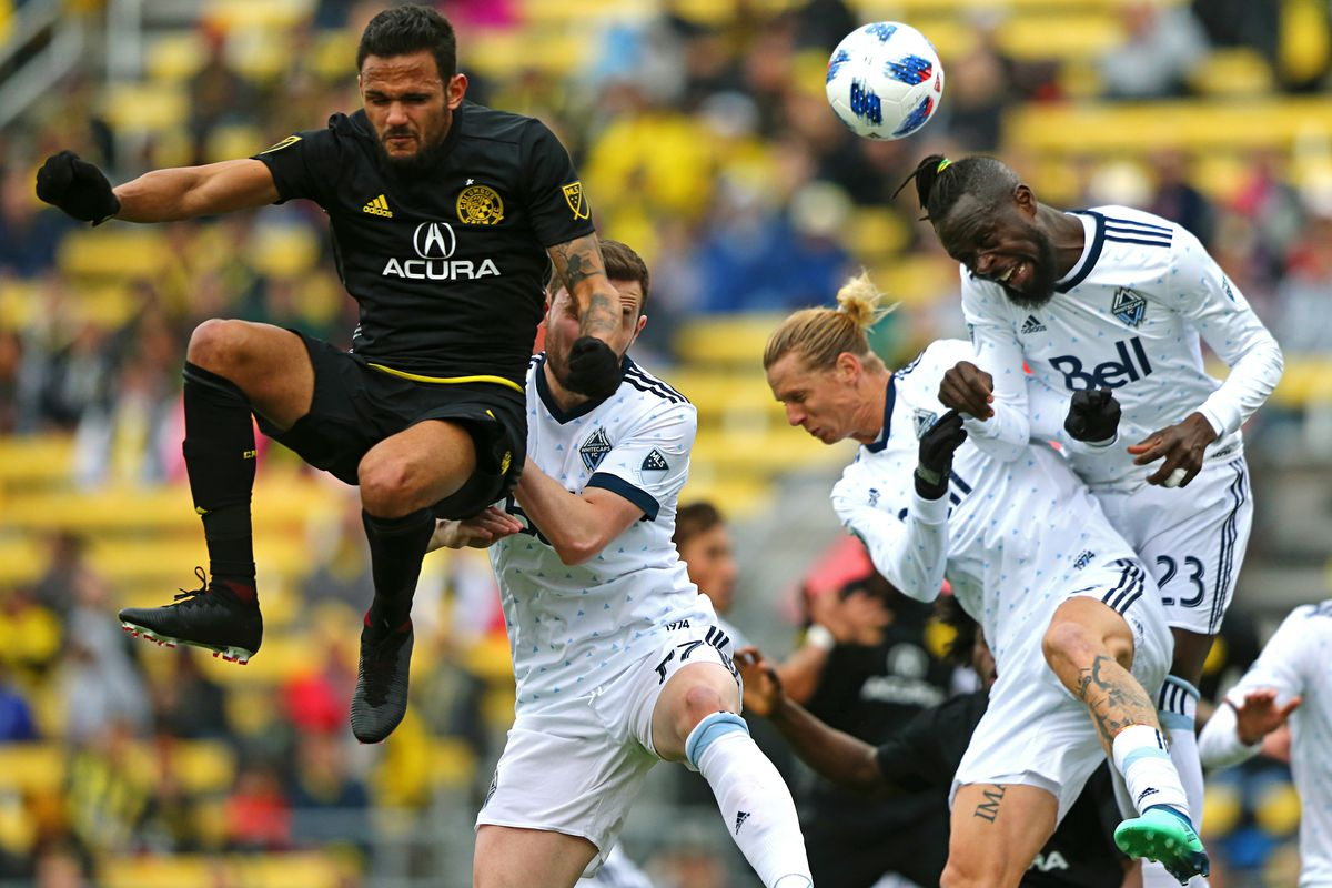 MLS: Vancouver Whitecaps at Columbus Crew SC