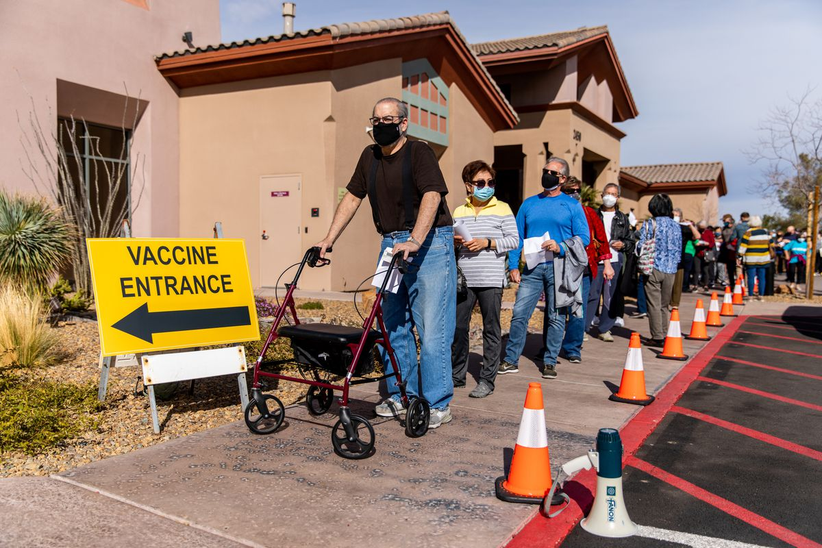 Henderson and Las Vegas residents receive the COVID-19 vaccination