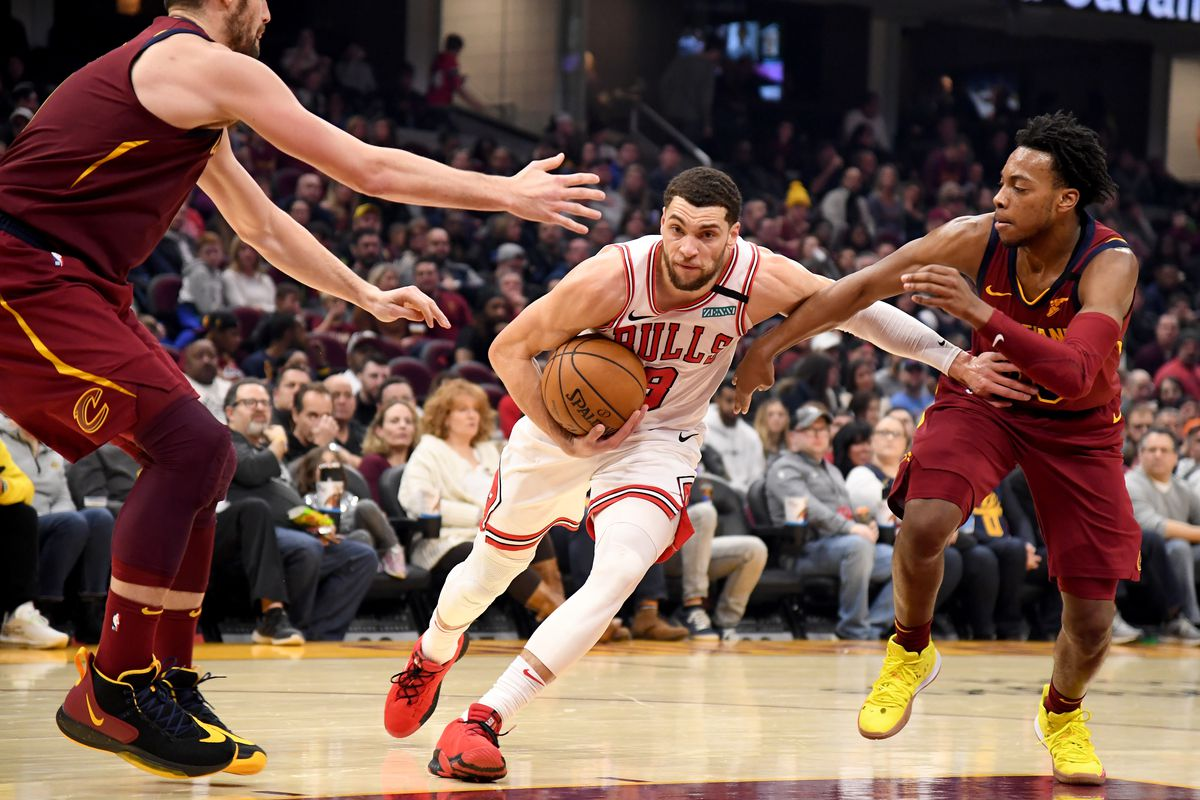 Two for one: Cavs have no answer for Zach LaVine, lose to Bulls 118-106