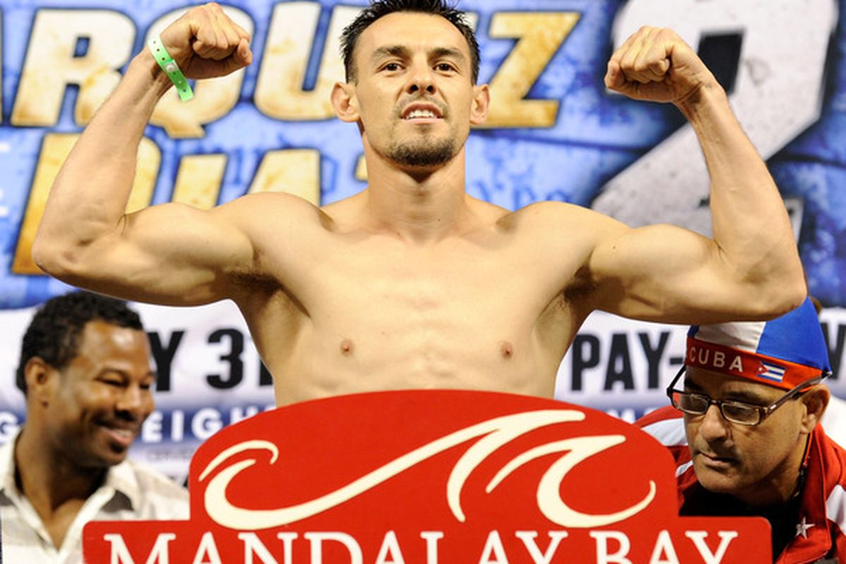 Robert Guerrero will be out of action for four months. (Photo by Ethan Miller/Getty Images)