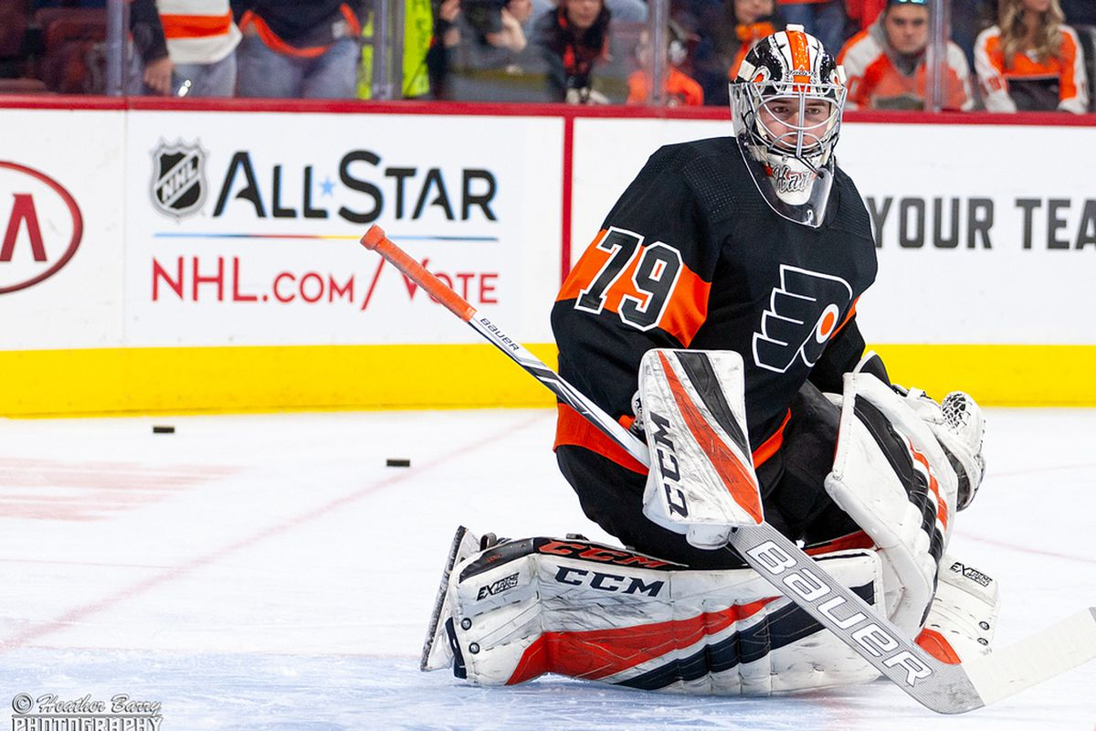 philadelphia flyers try to keep momentum rolling with carter hart