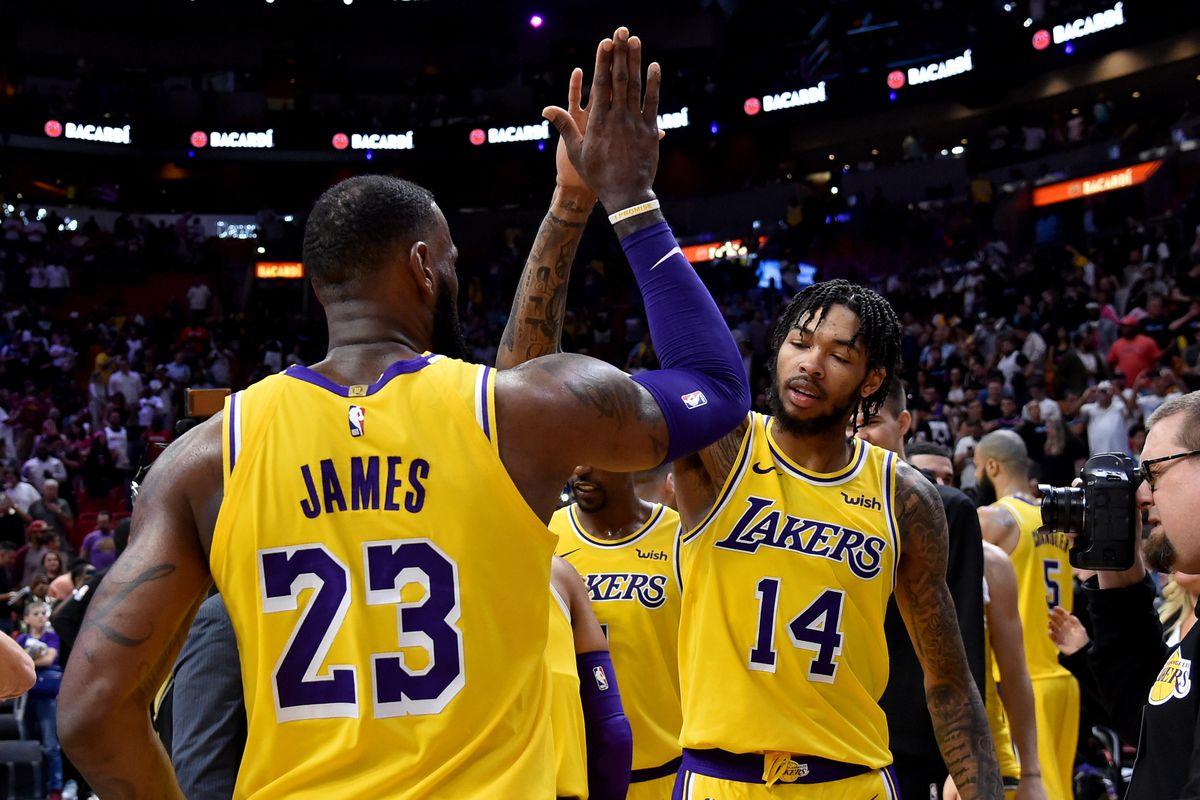 NBA: Los Angeles Lakers at Miami Heat