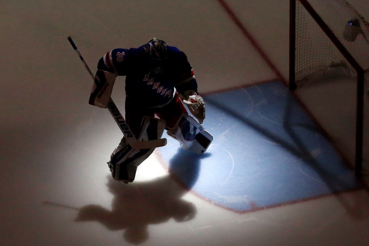 2015 Report Cards Henrik Lundqvist Blueshirt Banter