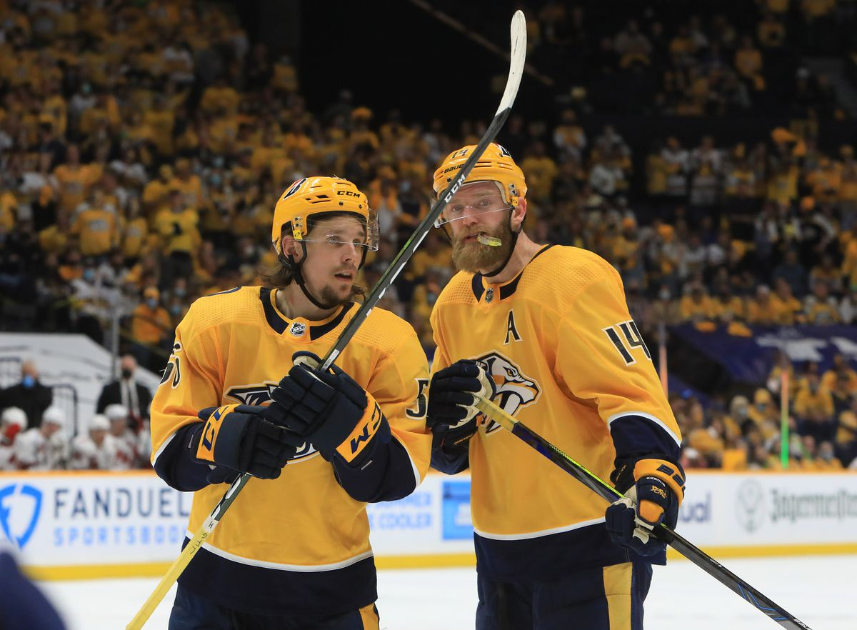 NHL: MAY 23 Stanley Cup Playoffs First Round - Hurricanes at Predators
