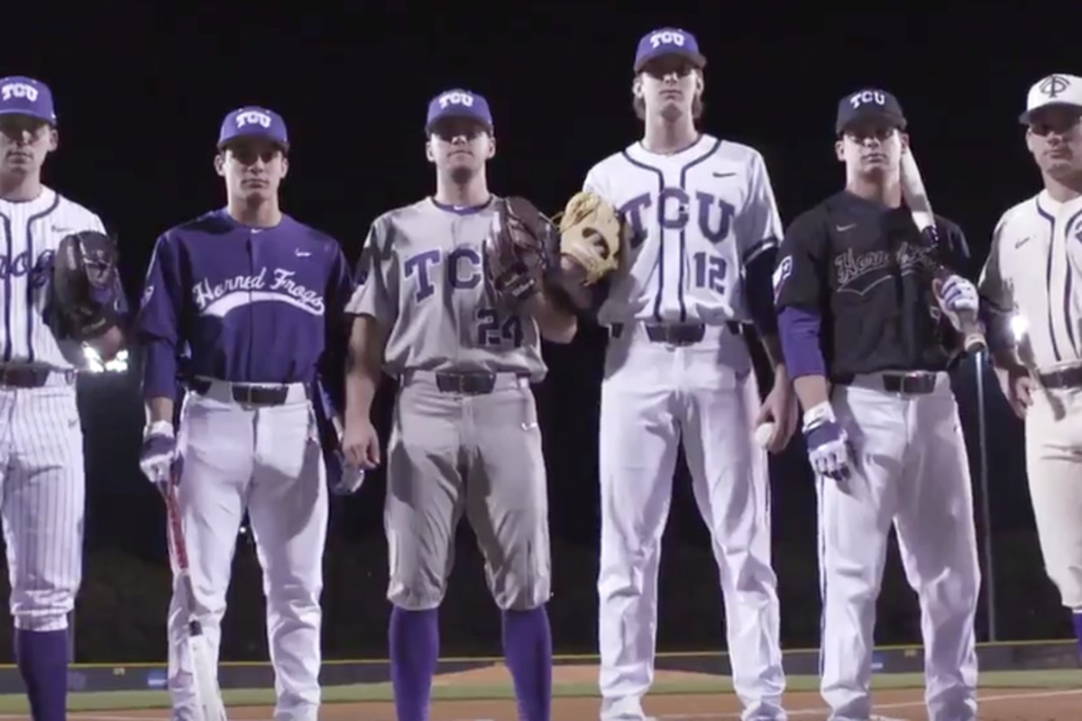7bc0fc58a TCU Baseball releases new threads - Frogs O  War