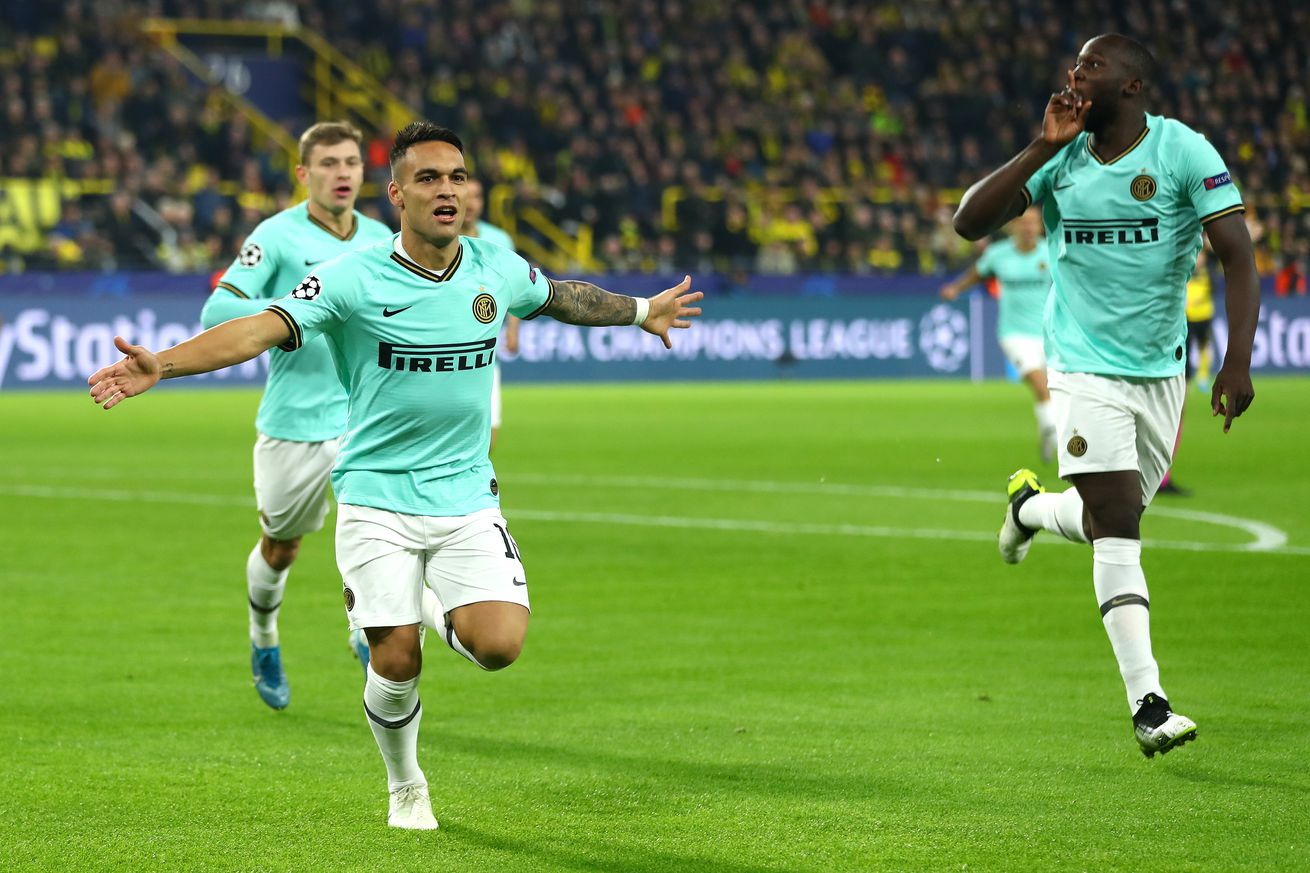 Borussia Dortmund vs Inter Milan: Match Thread