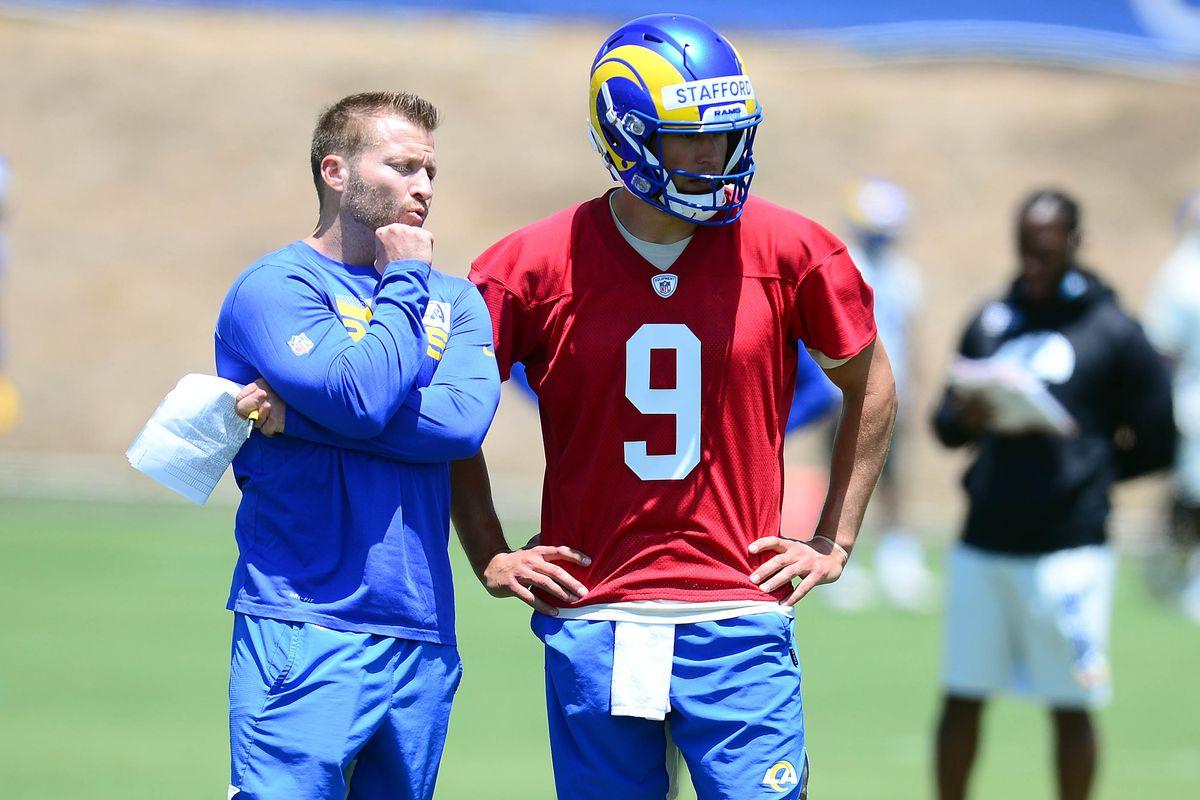 NFL: Los Angeles Rams OTA